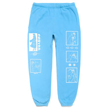 Load image into Gallery viewer, NARUTO ITACHI SWEAT PANTS (POWDER BLUE)