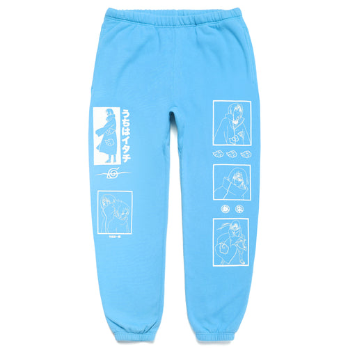 NARUTO ITACHI SWEAT PANTS (POWDER BLUE)