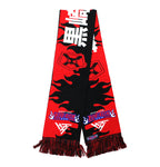 ICHIGO REAPER SCARF (BLACK/RED)