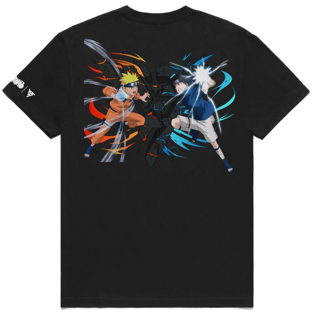 NARUTO RIVALS BREAK THROUGH SHIRT (BLACK)
