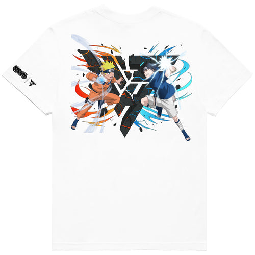 NARUTO RIVALS BREAK THROUGH SHIRT (WHITE)