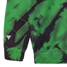 Load image into Gallery viewer, NARUTO ROCK LEE CHENILLE HOODIE (GREEN TIE DYE)