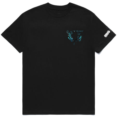 NARUTO SASUKE CHIDORI BREAK THROUGH SHIRT (BLACK)