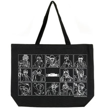 Load image into Gallery viewer, BLEACH CHARACTER TOTE BAG (BLACK)