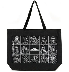 BLEACH CHARACTER TOTE BAG (BLACK)