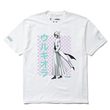 Load image into Gallery viewer, BLEACH ULQUIORRA GRID SHIRT (WHITE)
