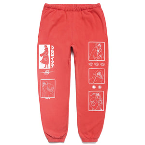NARUTO ITACHI SWEAT PANTS (BRICK)