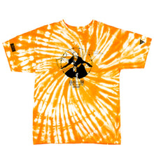 Load image into Gallery viewer, BLEACH TIE DYE ICHIGO SHIRT (ORANGE)