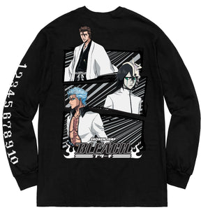 BLEACH ESPADA LONG SLEEVE SHIRT (BLACK)