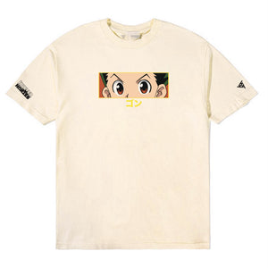 HXH GON EYES SHIRT (CREAM)