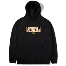 Load image into Gallery viewer, HXH GON EYES HOODIE (BLACK)
