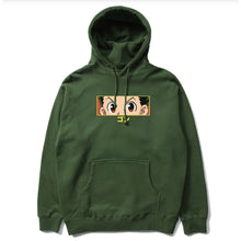 Load image into Gallery viewer, HXH GON EYES HOODIE (OLIVE)