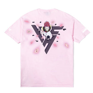 HXH HISOKA BREAK THROUGH SHIRT (PINK)
