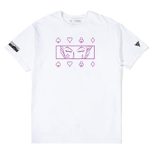 HXH HISOKA EYES SHIRT (WHITE)