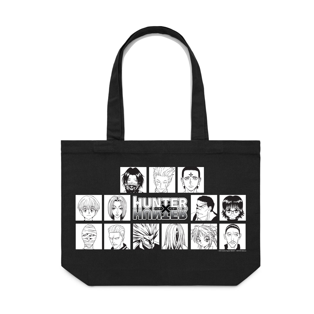 HXH HUNTER TROUPE TOTE BAG (BLACK)