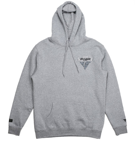 BLEACH ICHIGO SLICE HOODIE (HEATHER GREY)