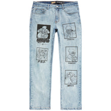 Load image into Gallery viewer, NARUTO TEAM 7 DENIM (LIGHT WASH)
