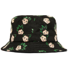 Load image into Gallery viewer, GON BUCKET HAT (BLACK)