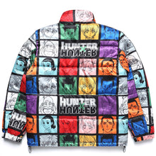 Load image into Gallery viewer, HXH CHARACTER PUFFER JACKET (BLACK)