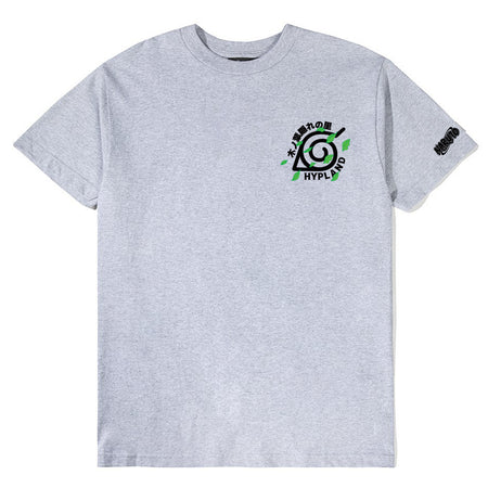 NARUTO LEAF VILLAGE TEAM SHIRT (HEATHER GREY)