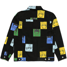 Load image into Gallery viewer, HXH COLOR DENIM JACKET (BLACK)