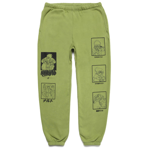 NARUTO TEAM 7 SWEAT PANTS (SAGE)