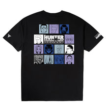 Load image into Gallery viewer, HXH TROUPE CHARACTER SHIRT (BLACK)