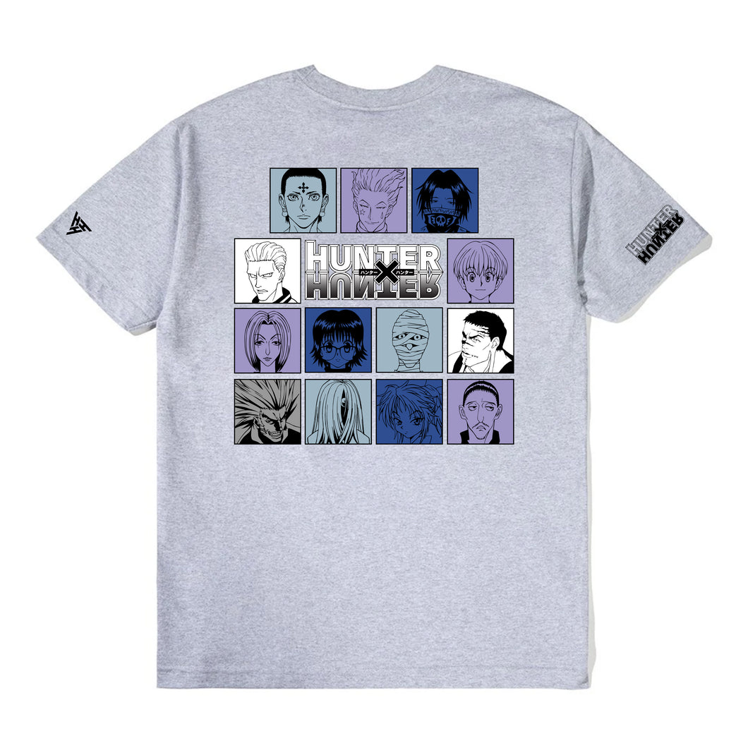 HXH TROUPE CHARACTER SHIRT (HEATHER GREY)
