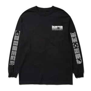 HXH PHANTOM TROUPE LONG SLEEVE SHIRT (BLACK)