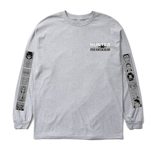HXH PHANTOM TROUPE LONG SLEEVE SHIRT (HEATHER GREY)