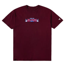 Load image into Gallery viewer, BLEACH TRIPLE THREAT SHIRT (MAROON)