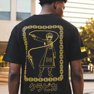 HXH KURAPIKA CHAIN SHIRT (BLACK)