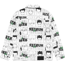 Load image into Gallery viewer, HXH CHARACTER DENIM JACKET (WHITE)