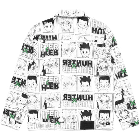 HXH CHARACTER DENIM JACKET (WHITE)