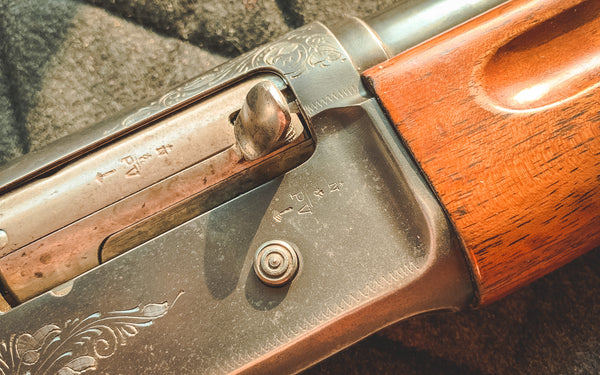 Browning A5 barrel extension