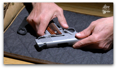 How to reassemble a Kimber 1911 pistol