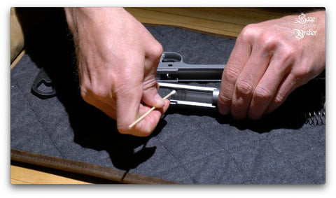 Kimber 1911 how to clean gun with cotton swabs