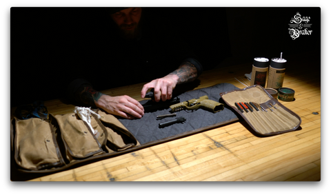 How to properly lubricate your H&K VP9 pistol