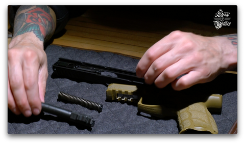 How to replace barrel in a H&K VP9 9mm pistol