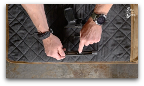 How to remove barrel from Sig Sauer P365 handgun