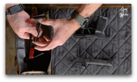 How to clean guide rod and spring Sig Sauer P365 pistol