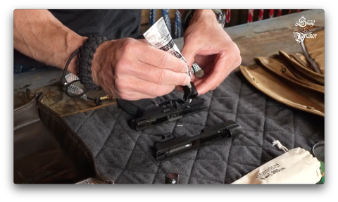 gun grease and lubricant