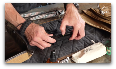 How to install guide rod and spring in a Sig Sauer P365