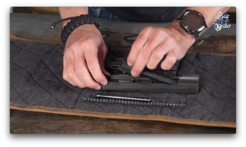 How to remove barrel from Sig Sauer P320 X5 Legion hadgun