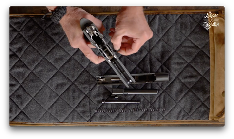 How to remove takedown assembly lever Sig Sauer P320 X5 Legion