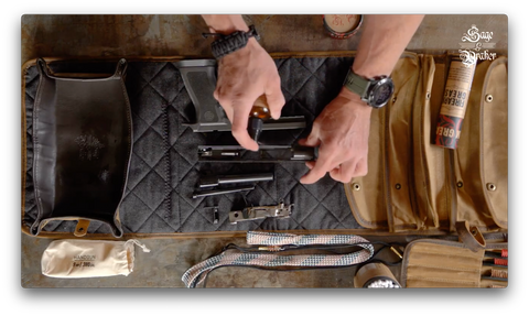 How to use CLP to clean and lubricate gun