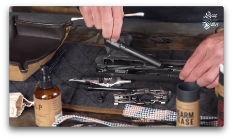 How to replace barrel in Sig Sauer P320 X5 Legion pistol