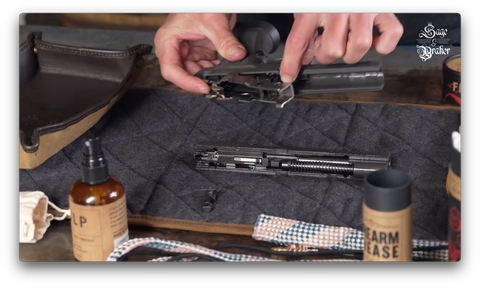 How to replace firearm control assembly in Sig Sauer P320 X5 Legion pistol