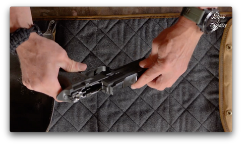 How to replace slide in Sig Sauer P320 X5 Legion pistol