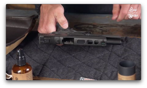 How to disassemble and clean a Sig Sauer P320 X5 Legion pistol